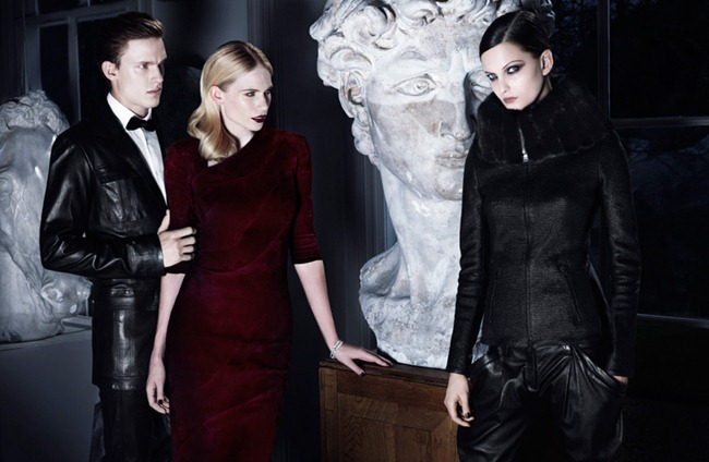 CAMPAIGN Masha Voronina, Chris Doe, Nadine Ponce, & Tuuli Shipster for Jitrois Fall 2012 by Rankin. Katie Shillingford, www.imageamplified.com, Image Amplified (7)