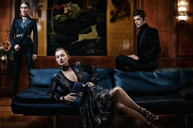 CAMPAIGN Kate Moss, Sean O'Pry & Karmen Pedaru for Salvatore Ferragamo Fall 2012 by Mikael Jansson. www.imageamplified.com, Image Amplified (2)