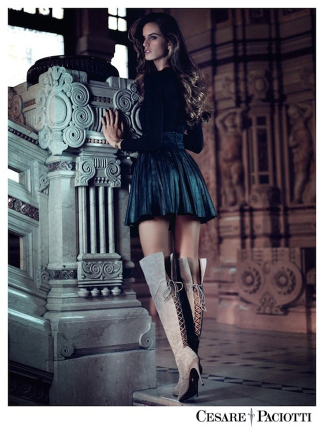CAMPAIGN Izabel Goulart & Tony Ward for Cesare Paciotti Fall 2012 by Stefano Galuzzi. www.imageamplified.com, Image Amplified (7)