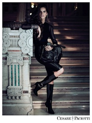 CAMPAIGN Izabel Goulart & Tony Ward for Cesare Paciotti Fall 2012 by Stefano Galuzzi. www.imageamplified.com, Image Amplified (2)