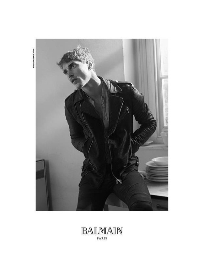 CAMPAIGN Nadja Bender & Clement Chabernaud for Balmain Fall 2012 by David Sims. www.imageamplified.com, Image Amplified (1)