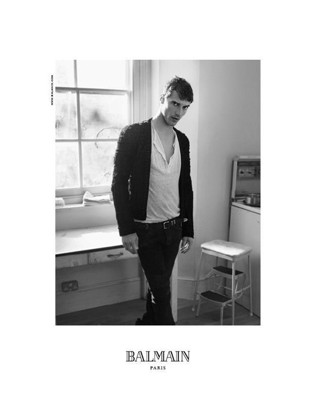 CAMPAIGN Nadja Bender & Clement Chabernaud for Balmain Fall 2012 by David Sims. www.imageamplified.com, Image Amplified (3)