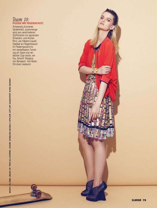 glamour germany: jennifer pugh by photographer nagi sakai - image, Attraktive mobel