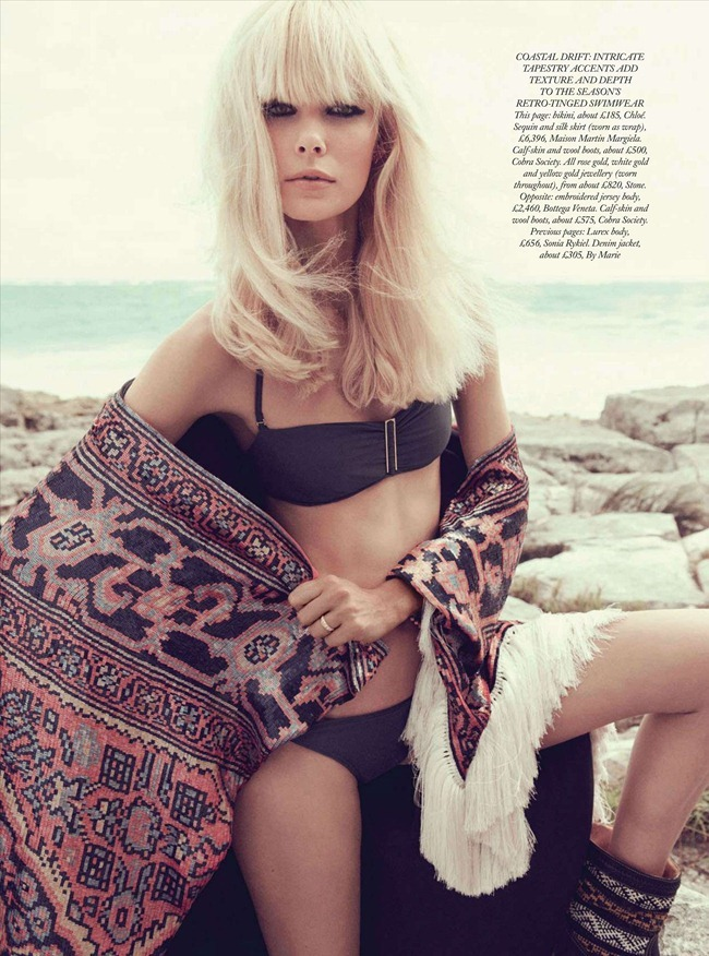 HARPER'S BAZAAR UK Dewi Driegen in Boho Beach by Paola Kudacki. Melanie Utzmann Huynh, June 2012, www.imageamplified.com, Image Amplified (9)