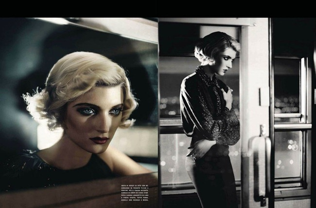 VOGUE ITALIA Sophie Sumner in Divina by Vincent Peters. Valentina Serra, August 2012, www.imageamplified.com, Image Amplified (1)