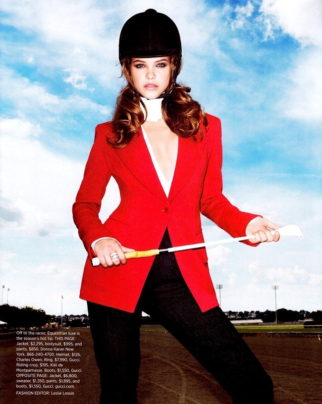 HARPER'S BAZAAR MAGAZINE Barbara Palvin in Clothes Horse by Terry Richardson. Leslie Lessin, September 2012, www.imageamplified.com, Image Amplified (2)