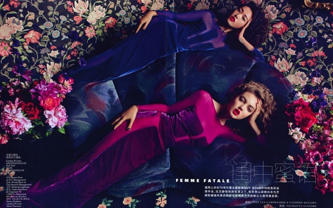 VOGUE CHINA Femme Fatale by Inez & Vinoodh. Nicoletta Santoro, September 2012, www.imageamplified.com, Image Amplified (2)