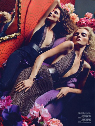 VOGUE CHINA Femme Fatale by Inez & Vinoodh. Nicoletta Santoro, September 2012, www.imageamplified.com, Image Amplified (9)