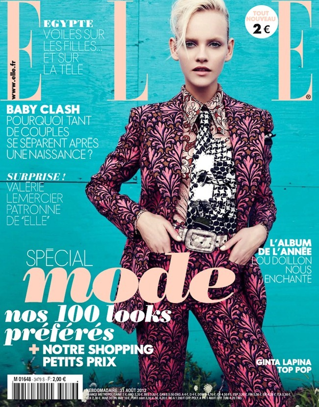 ELLE FRANCE Ginta Lapina in All That Chic by Nagi Sakai. Michele Beaurenaut, August 2012, www.imageamplified.com, Image Amplified (26)