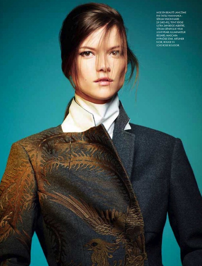 ELLE FRANCE Kasia Struss in Color Top by Davis Vasiljevic. www.imageamplified.com, Image Amplified (7)