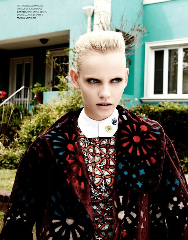 ELLE FRANCE Ginta Lapina in All That Chic by Nagi Sakai. Michele Beaurenaut, August 2012, www.imageamplified.com, Image Amplified (11)