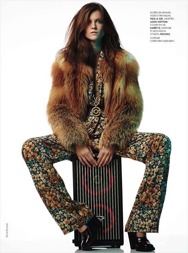 ELLE FRANCE Kasia Struss in Color Top by Davis Vasiljevic. www.imageamplified.com, Image Amplified (20)