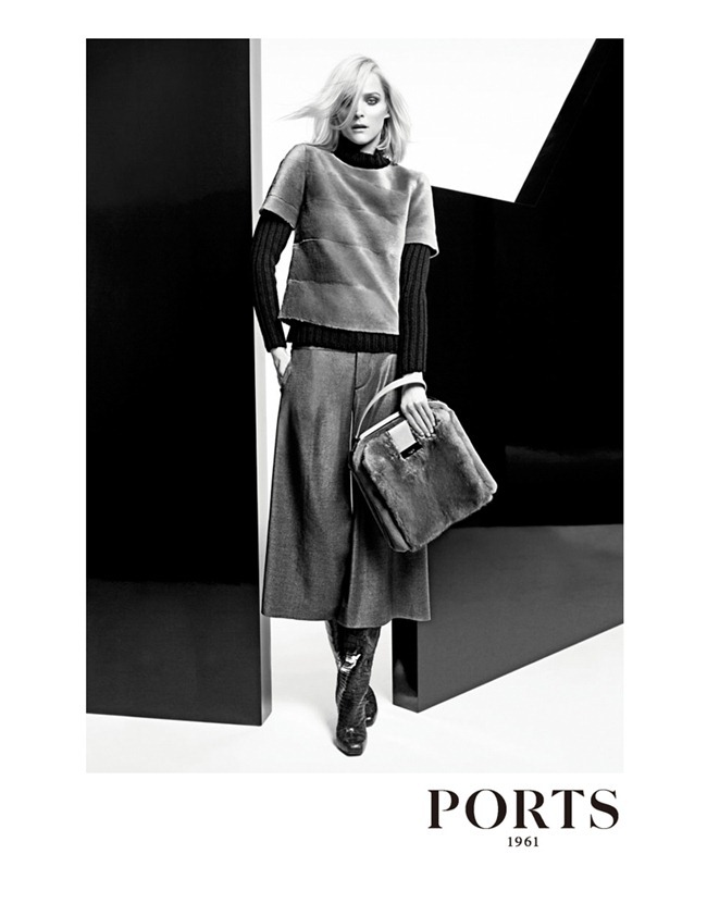 campaign carmen kass for ports 1961 fall 2012 by
