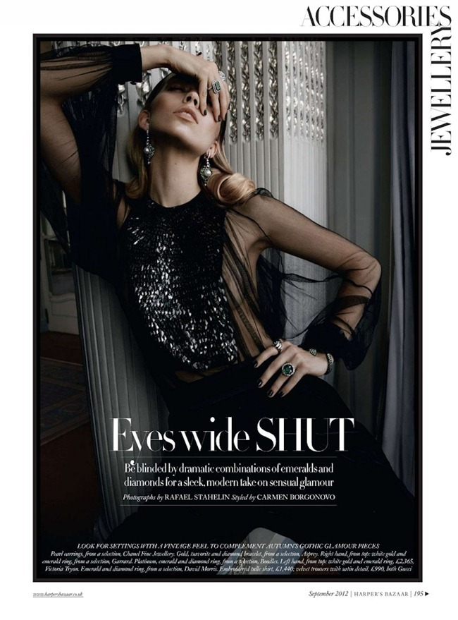 HARPER'S BAZAAR UK Emily Senko in Eyes Wide Shut by Rafael Stahelin. Carmen Bergonovo, September 2012, www.imageamplified.com, Image Amplified (1)