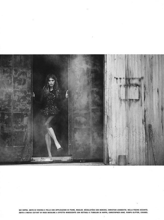 VOGUE ITALIA Elisa Sednaoui by Peter Lindbergh. September 2012, Sara Maino, www.imageamplified.com, Image Amplified (3)