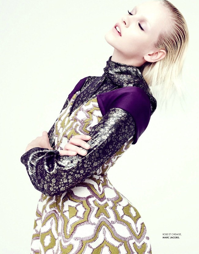 ELLE FRANCE Ginta Lapina in All That Chic by Nagi Sakai. Michele Beaurenaut, August 2012, www.imageamplified.com, Image Amplified (15)