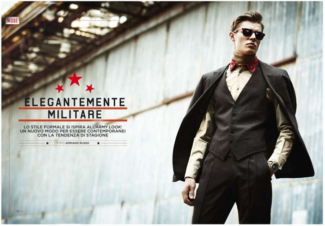 GQ ITALIA- Janis Ancens in Elegantemente Militare by Adriano Russo. Peter Cardona, www.imageamplified.com, Image Amplified (5)