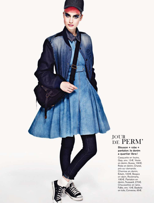 GLAMOUR FRANCE- Pauline van der Cruysse in Jean Parade by Naomi Yang. Sebastien Cambos, November 2012, www.imageamplified.com, Image Amplified (7)
