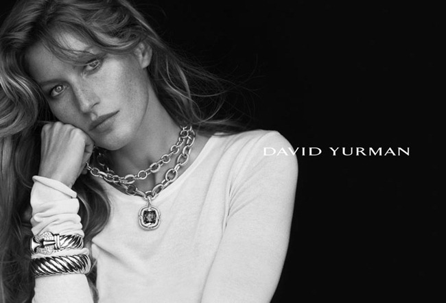 CAMPAIGN Gisele Bundchen for David Yurman Fall 2012 by Peter Lindbergh. www.imageamplified.com, Image Amplified