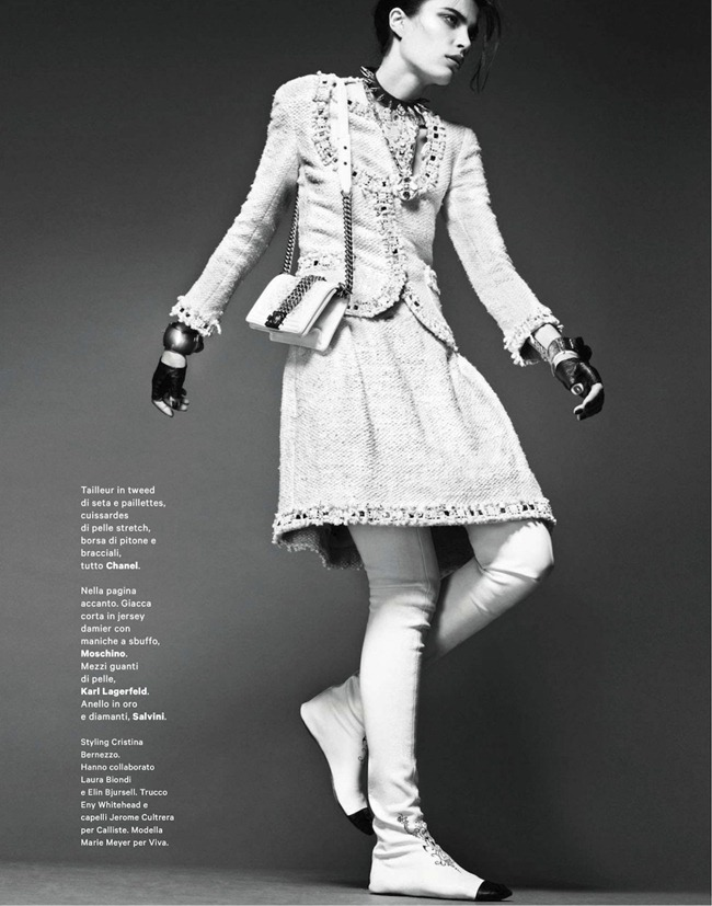 AMICA MAGAZINE Marie Meyer in Classico Glam by Jonathan Segade. Cristina Bernezzo, November 2012, www.imageamplified.com, Image Amplified (6)