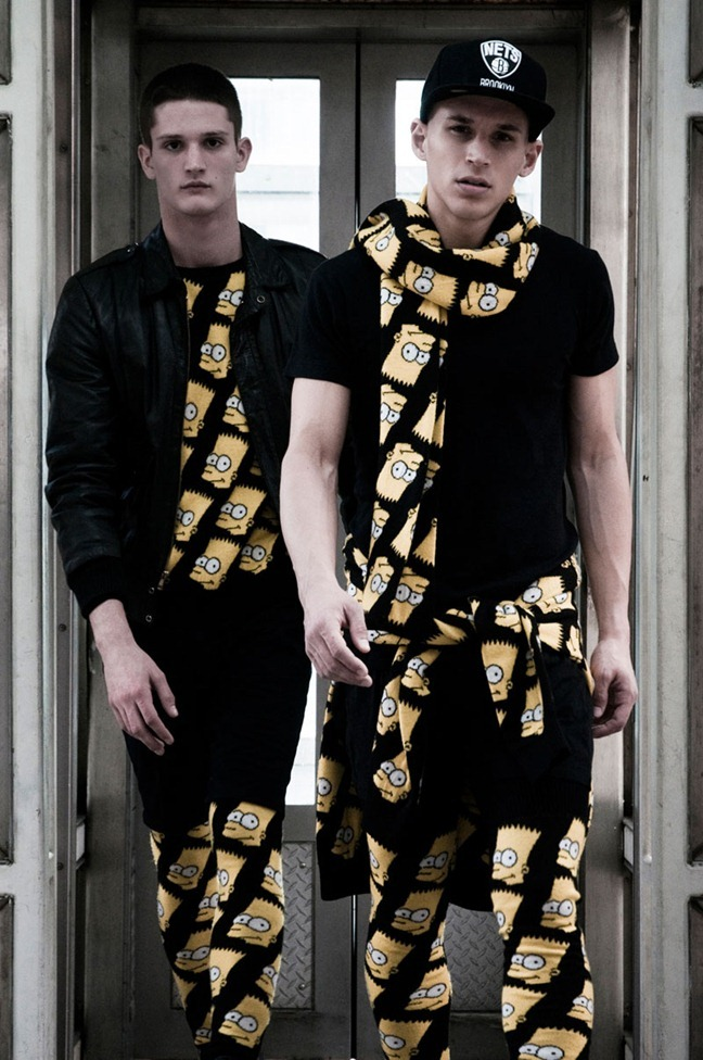 FUCKING YOUNG! ONLINE Alex Ciappara & Kevin Mortens in Jeremy Scott Fall 2012 by Cesar Segarra. www.imageamplified.com, Image Amplified (3)