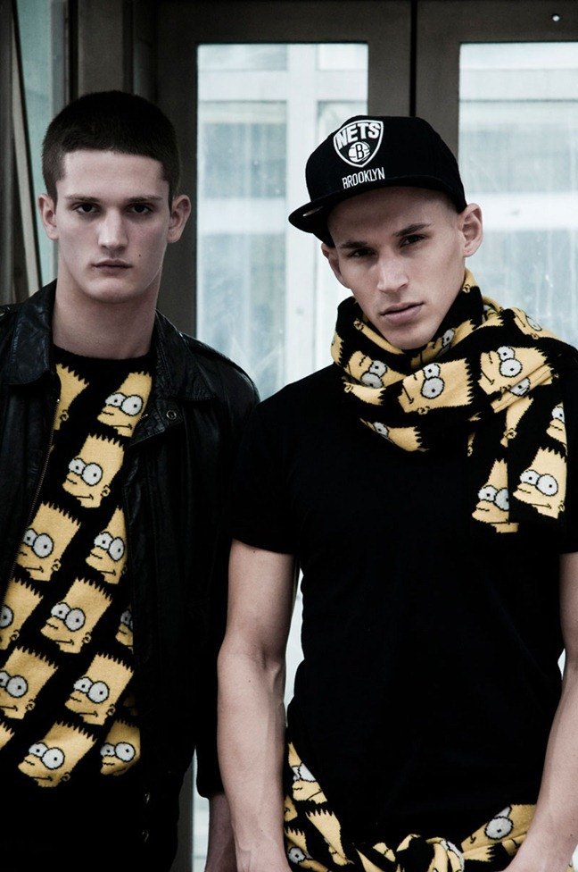 FUCKING YOUNG! ONLINE Alex Ciappara & Kevin Mortens in Jeremy Scott Fall 2012 by Cesar Segarra. www.imageamplified.com, Image Amplified (1)