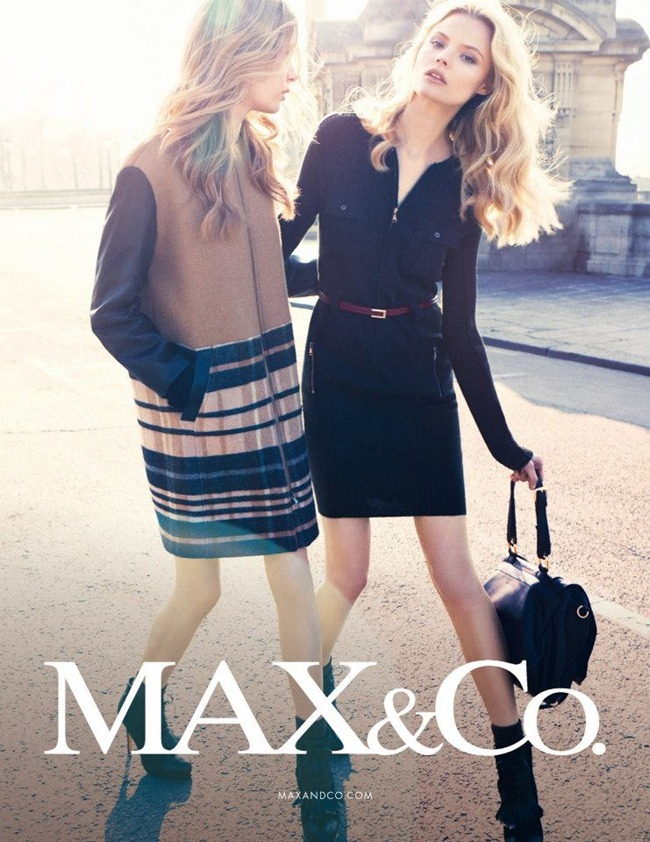 CAMPAIGN Magdalena Frackowiak & Josephine Skriver for Max & Co by Knoepfel & Indlekofer. Clare Richardson, www.imageamplified.com, Image Amplified (1)