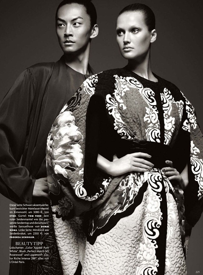 VOGUE GERMANY- Tony Garrn & David Chiang in So Fern, So Nah by Christiane Arp. Alexi Lubomirski December 2012, www.imageamplified.com, Image Amplified (8)