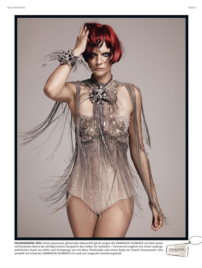 VOGUE GERMANY- Karolin Wolter in Swarovski by Lado Alexi. Dennis Blys, December 2012, www.imageamplified.com, Image Amplified (1)