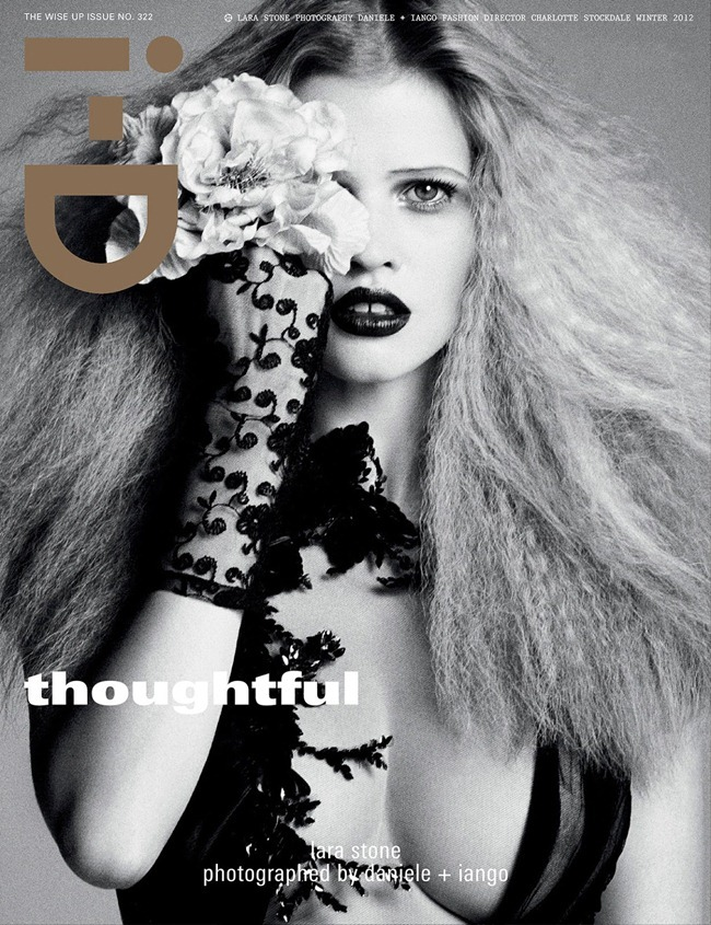 I-D MAGAZINE- Lara Stone & Laetitia Casta in Always Treat Others How You'd Like To Be Treated Yourself by Daniele   Iango. Winter 2012, Charlotte Stockdale, www.imageamplified.com, Image Amplified (1)