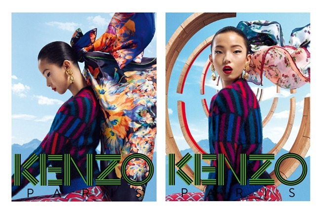 CAMPAIGN- Xiao Wen Ju & Simon Sabbah for Kenzo Acessories Fall 2012 by Frederik Heyman. www.imageamplified.com, Image Amplified