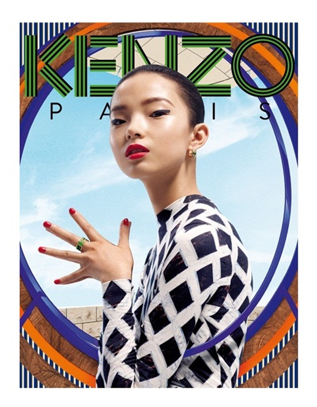 CAMPAIGN- Xiao Wen Ju & Simon Sabbah for Kenzo Acessories Fall 2012 by Frederik Heyman. www.imageamplified.com, Image Amplified (2)