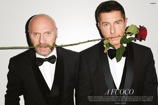 FLAIR MAGAZINE- Domenico Dolce & Stefano Gabbana in A Fuoco by Terry Richardson, Giampaolo Sgura, Steven Klein & Jean-Baptiste Mondino. December 2012, www.imageamplified.com, Image Amplified