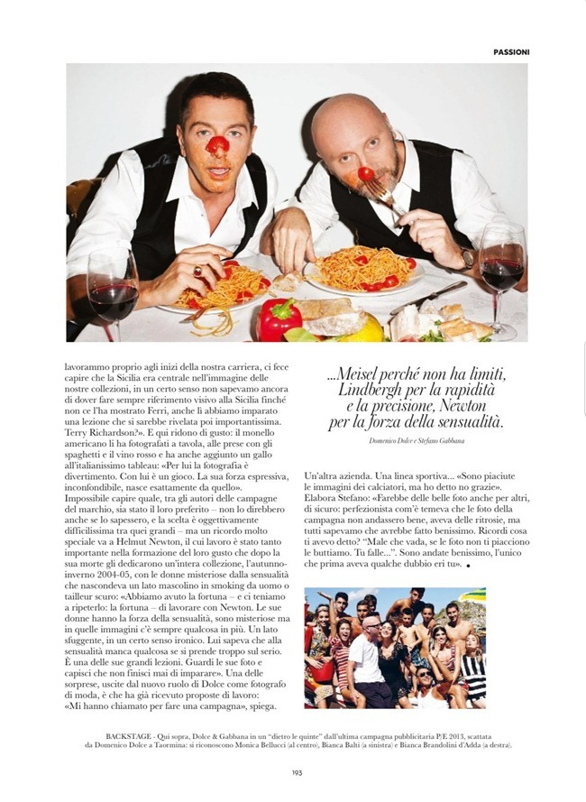 FLAIR MAGAZINE- Domenico Dolce & Stefano Gabbana in A Fuoco by Terry Richardson, Giampaolo Sgura, Steven Klein & Jean-Baptiste Mondino. December 2012, www.imageamplified.com, Image Amplified (4)