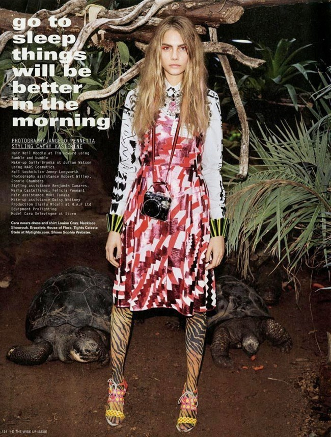 I-D MAGAZINE- Cara Delevigne in Go to Sleep Things Will be Better in the Morning by Angelo Pennetta. Cathy Kasterine, Winter 2012, www.imageamplified.com, Image Amplified (1)