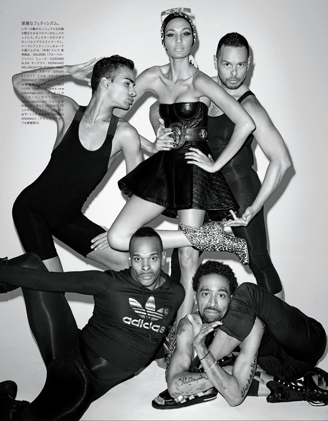 VOGUE JAPAN- Joan Smalls in How to Vogue for Vogue by Terry Richardson. George Cortina, January 2013, www.imageamplified.com, Image Amplified (4)