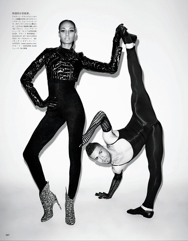 VOGUE JAPAN- Joan Smalls in How to Vogue for Vogue by Terry Richardson. George Cortina, January 2013, www.imageamplified.com, Image Amplified (7)