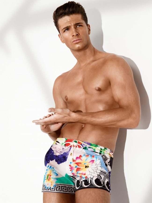 CAMPAIGN- Versace Spring 2013 Beachwear. www.imageamplified.com, Image Amplified