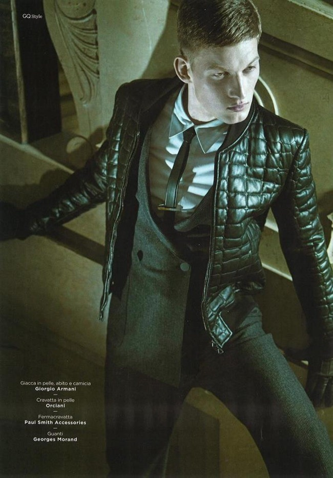GQ STYLE ITALIA- Bastian Thiery by Kotas Avgulis. Fall 2012, www.imageamplified.com, Image Amplified
