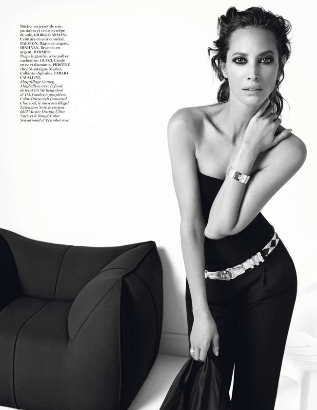 VOGUE PARIS- Christy Turlington in Christy by Inez & Vinoodh. Geraldine Saglio, December 2012, www.imageamplified.com, Image Amplified (5)