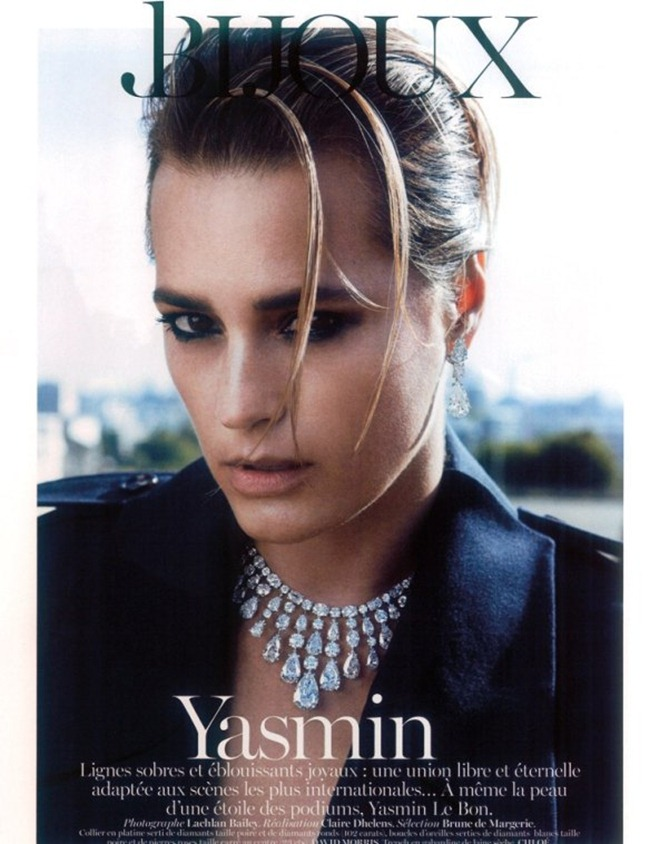VOGUE PARIS- Yasmin Le Bon in Yasmin by Lachlan Bailey. Claire Dhelen, December 2012, www.imageamplified.com, Image Amplified (4)