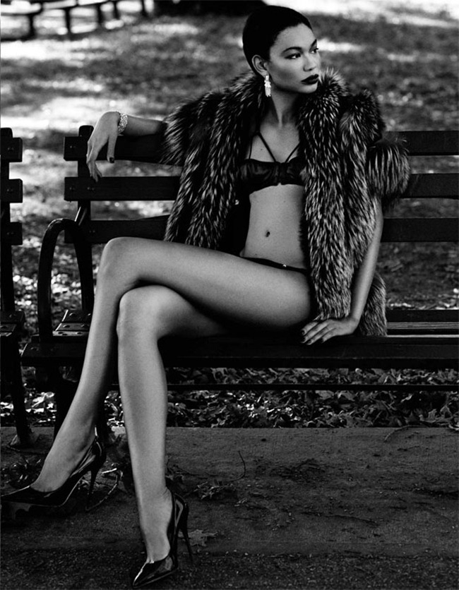 DELUXE MAGAZINE- Chanel Iman in Venus in Furs by David Roemer. www.imageamplified.com, Image Amplified