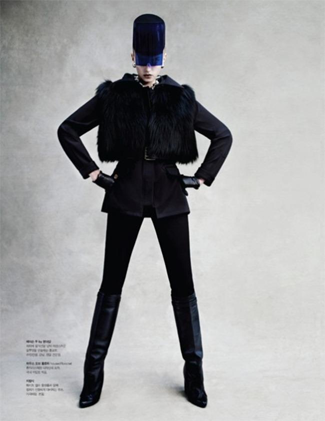 S MAGAZINE- Sigrid Agren by Victor Demarchelier. Anthony Unwin, www.imageamplified.com, Image Amplified