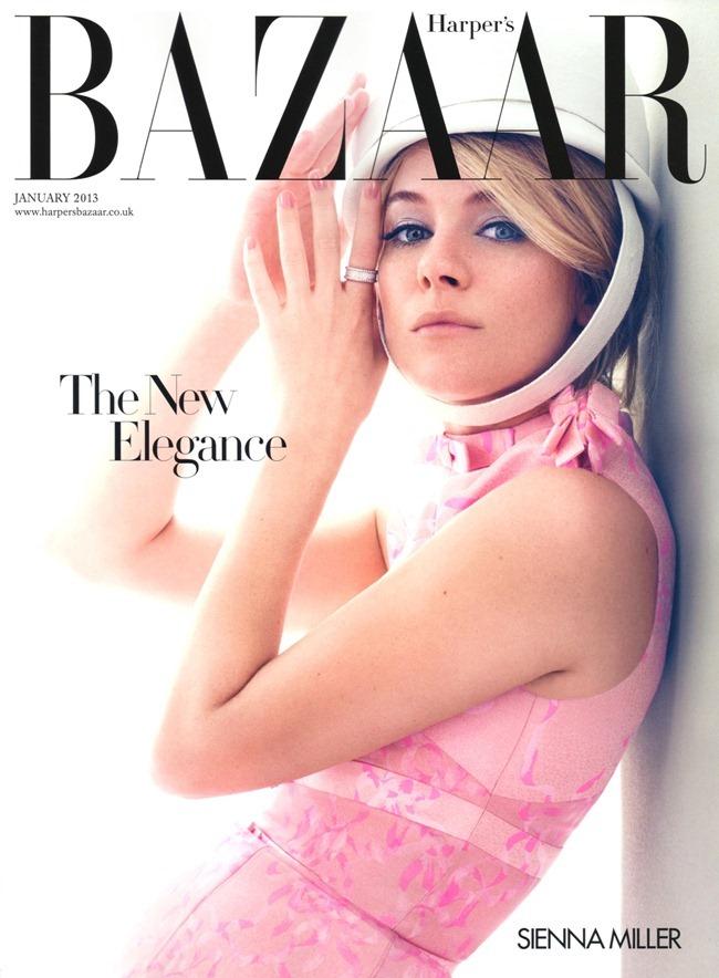 HARPER'S BAZAAR UK- Sienna Miller by David Slijper. Leith Clark, January 2013, www.imageamplified.com, Image Amplified (1)