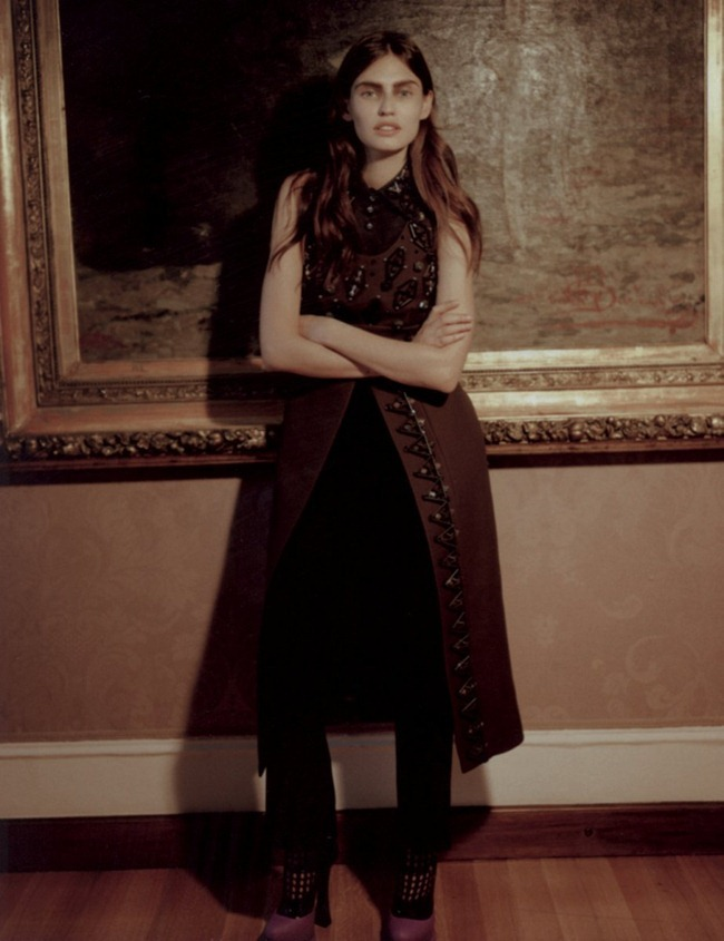 GREY MAGAZINE- Bianca Balti by Manuela Pavesi. Moreno Galata, Fall 2012, www.imageamplified.com, Image Amplified (2)