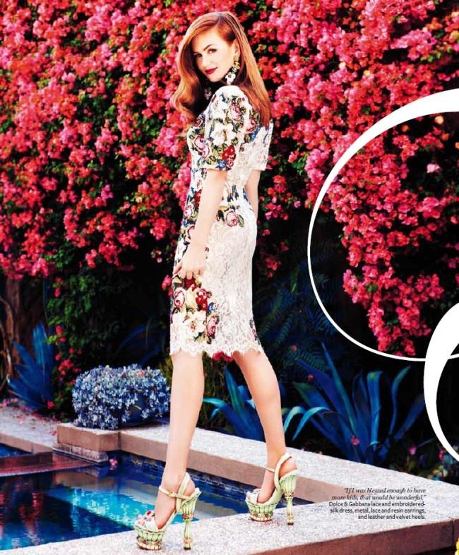 FASHION PHOTOGRAPHY- Isla Fisher for InStyle Australia, December 2012, www.imageamplified.com, Image Amplified