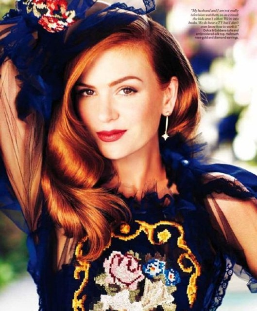 FASHION PHOTOGRAPHY- Isla Fisher for InStyle Australia, December 2012, www.imageamplified.com, Image Amplified (3)