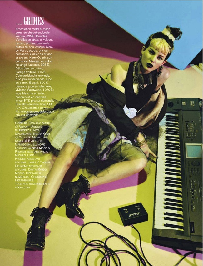 GLAMOUR FRANCE- Ellinore Erichsen in Let's Party With by Alice Rosati. January 2013, Yoko Miyake, www.imageamplified.com, Image Amplified (6)