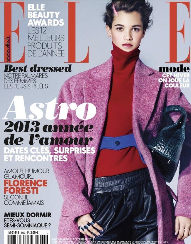 ELLE FRANCE- Pauline Hoarau in Hot en Couleurs by Lee Froomfield. Marie Lichtenberg, December 2012, www.imageamplified.com, Image Amplified