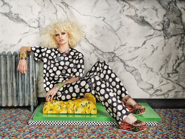TAR MAGAZINE- Stef van der Laan in Material Girl by Roe Ethridge. Giovanna BAttaglia, Fall 2012, www.imageamplified.com, Image Amplified